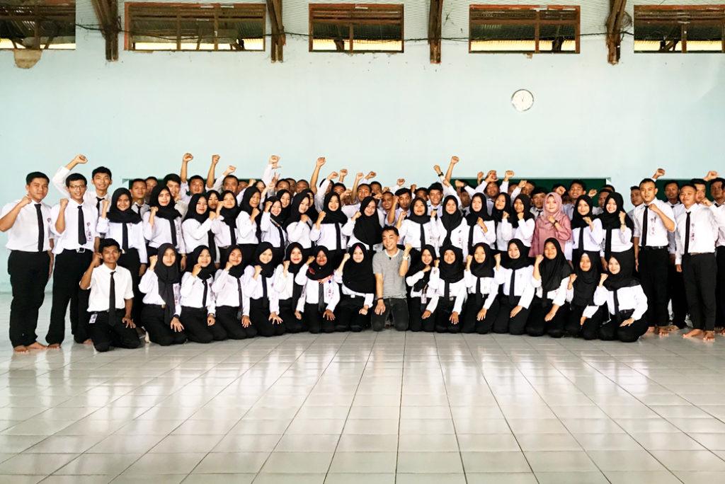 西ジャワの日本語学校3